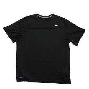Nike dri-fit Black short sleeve workout tee